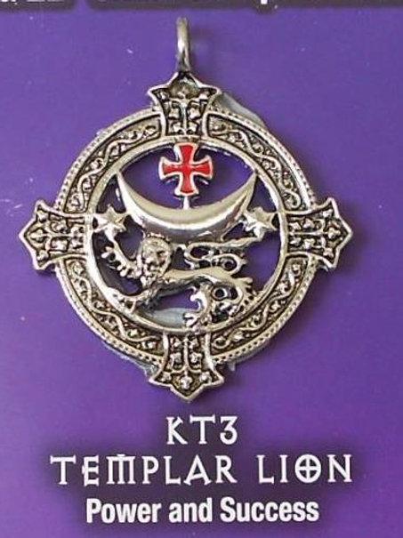 Templar Lion Pendant Chain