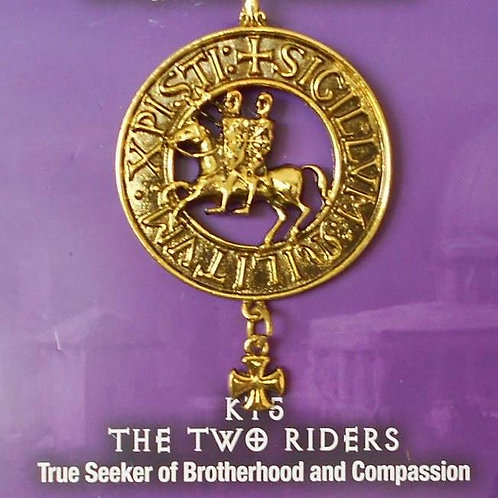 The Two Riders Pendant Chain