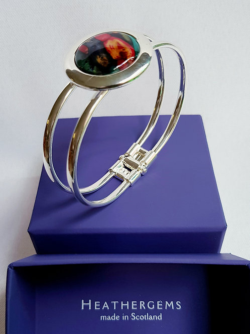 Heathergems Solid Cirlce Bangle