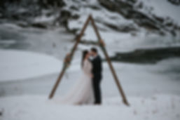 Alberta Wedding, The Crossing at Ghost River Creative Winter