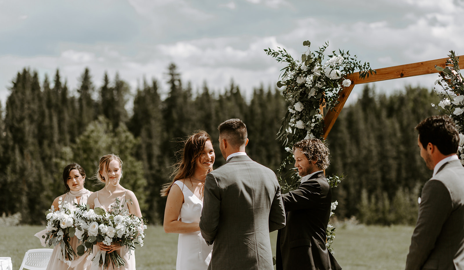 Cochrane Ranche House Outdoor Ceremony