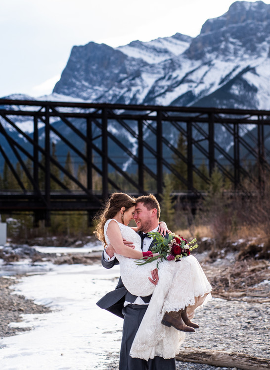 Canmore Alberta Wedding