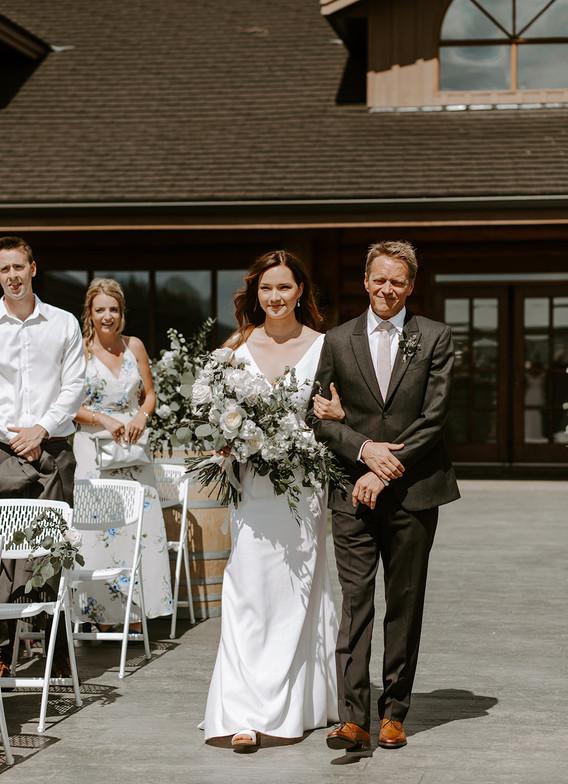 Cochrane Ranche House Spring Wedding