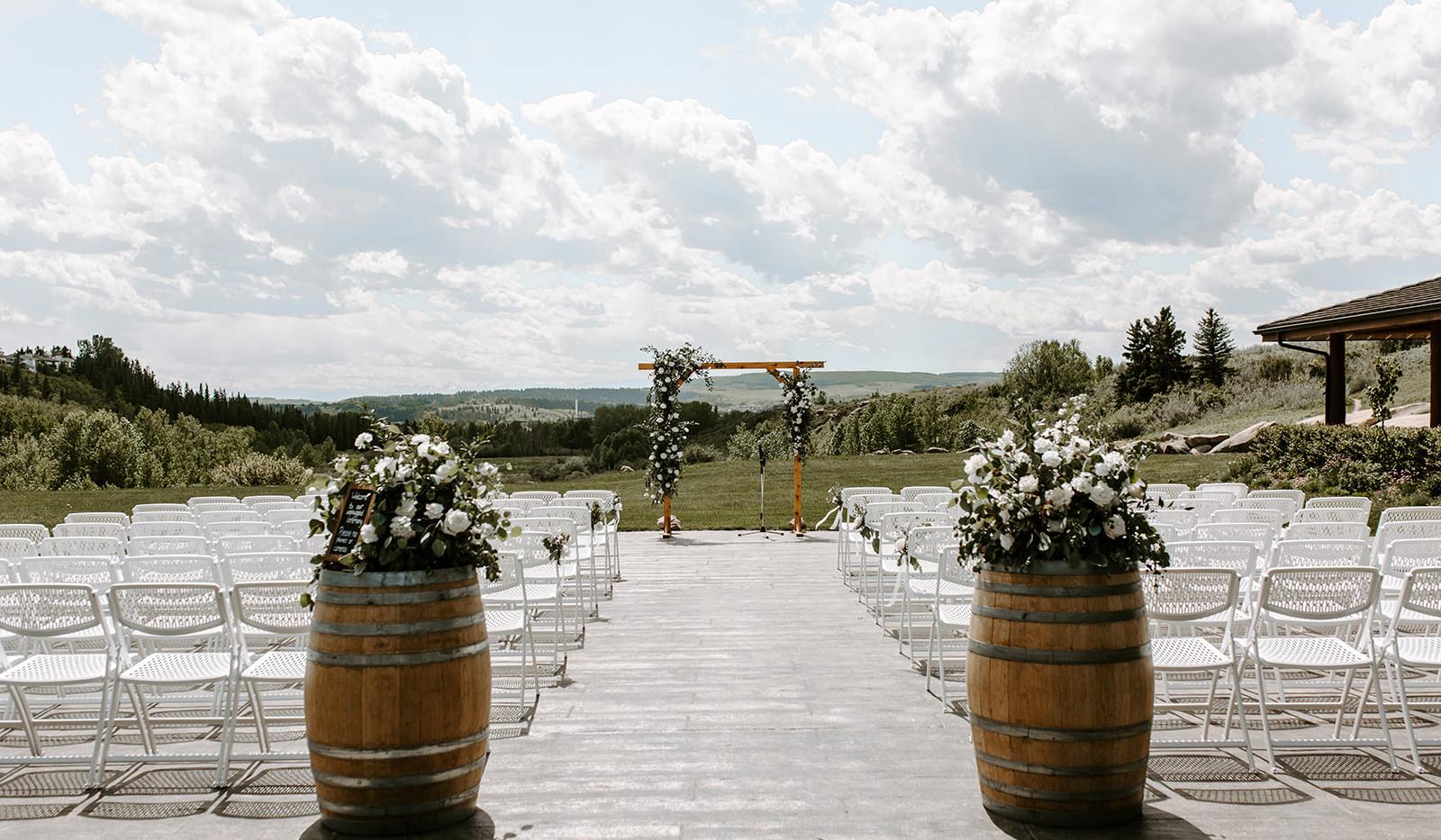 Cochrane Ranche House Wedding