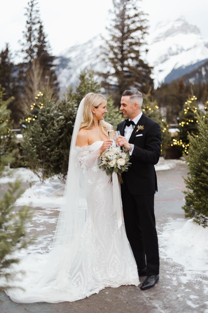Banff Alberta Wedding