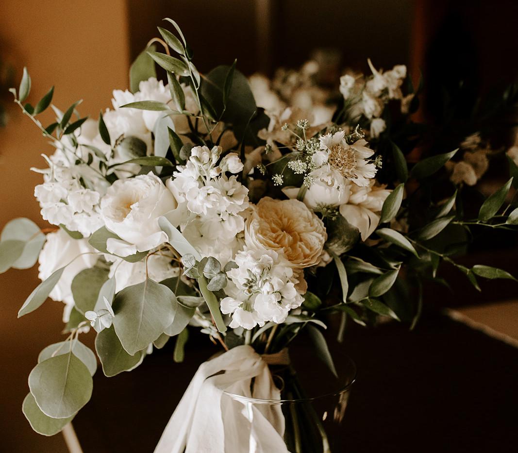 Classic Tones Bridal Bouquet