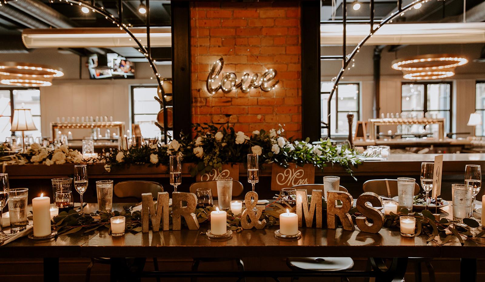 YYC Alberta, Last Best Brewing Wedding Reception
