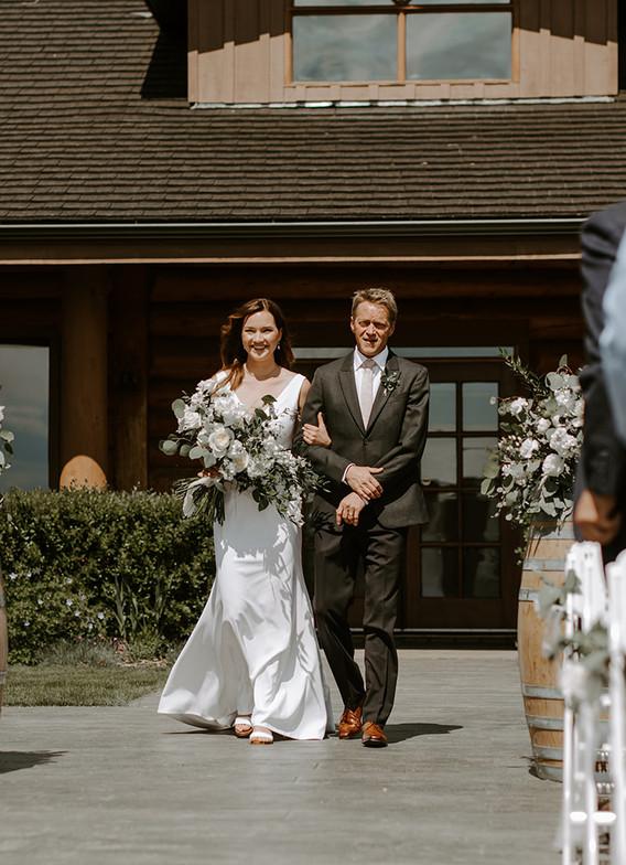 Cochrane Ranche House Wedding Ceremony