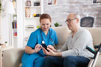 senior-man-in-nursing-home-with-crutches