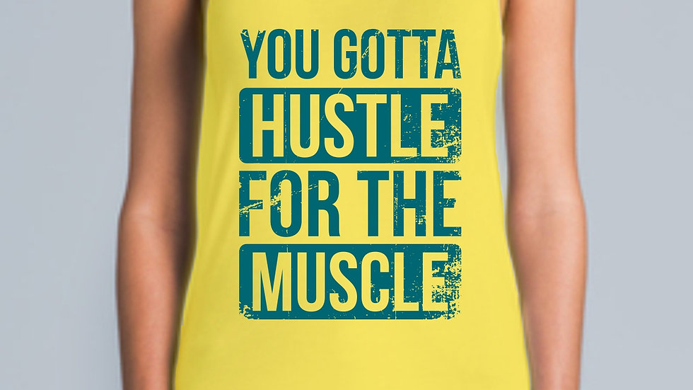 Hustle For The Muscle Racer Back