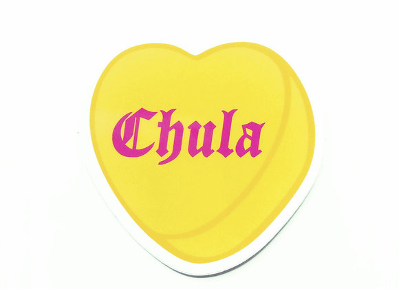 CHULA, vinyl sticker (SINGLE)