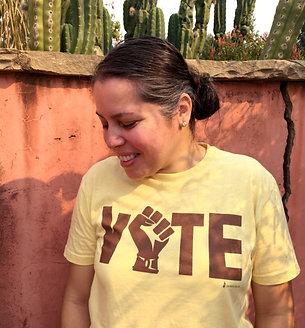 ¡VOTE! T-shirt (BROWN)