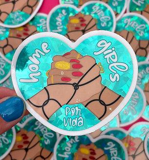 HOMEGIRLS P/V sticker (SINGLE)