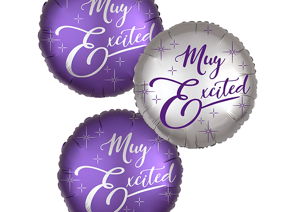 MUY EXCITED Balloons (3 BUNDLE)