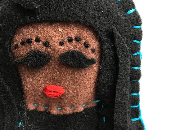 CHOLA (Black Hair) Ornament