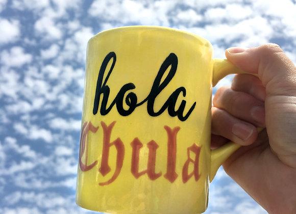 HOLA CHULA Mug (Yellow)