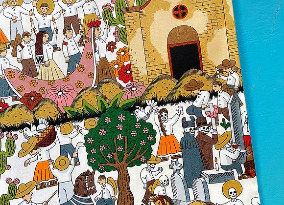 Puebla Fabric (TEA)