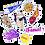 Thumbnail: EVD ULTIMATE PACK, vinyl stickers  (8 PACK)