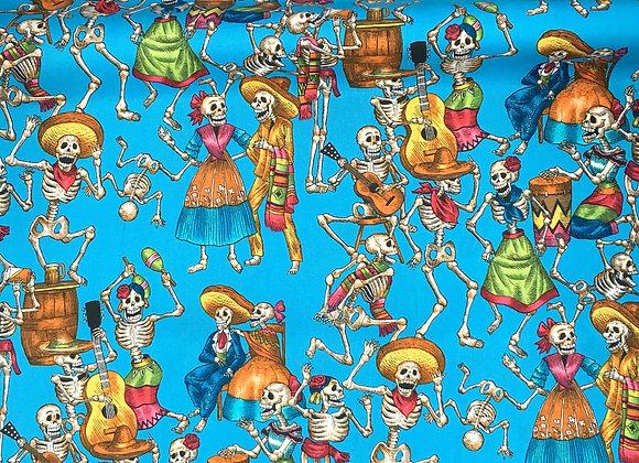 Fiesta De Los Muertos Fabric