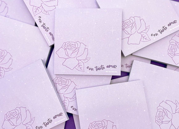 CON TANTO AMOR sticky notes