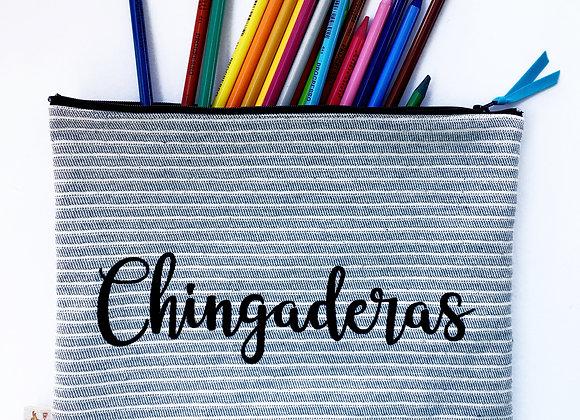 CHINGADERAS Zip Clutch