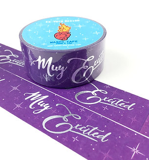 MUY EXCITED Washi Tape