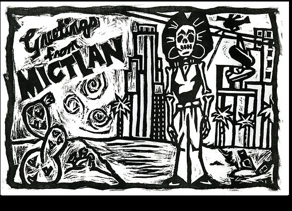 GREETINGS FROM MICTLAN Print