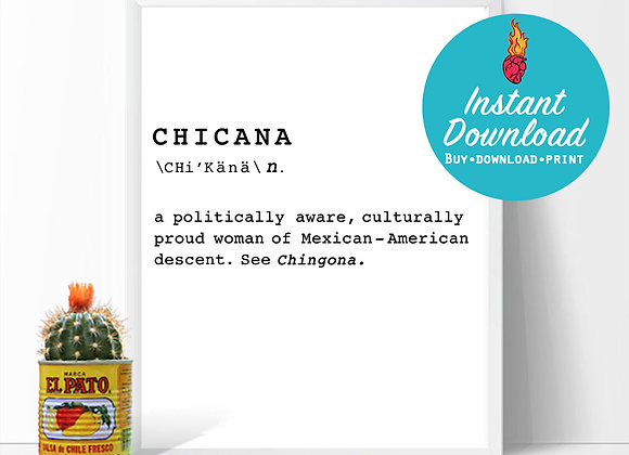 CHICANA DEFINITION