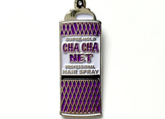 CHA CHA NET Enamel Pin