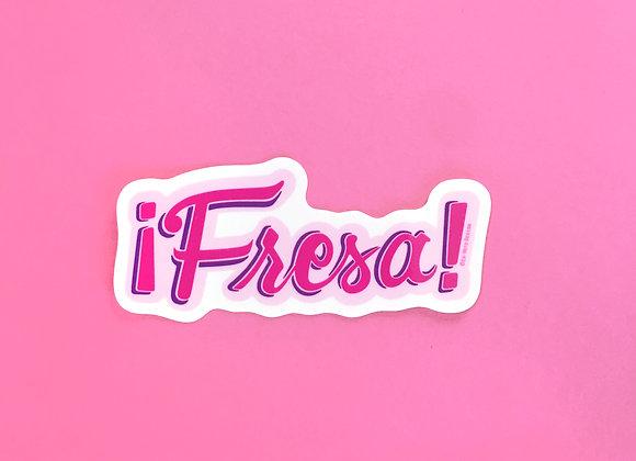 FRESA, vinyl sticker