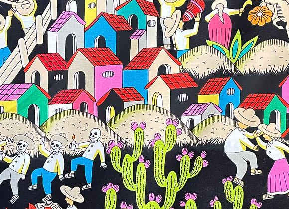 Puebla Fabric (BLACK)