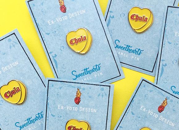 CHULA Sweethearts Enamel Pin