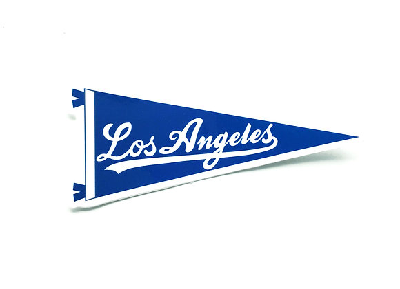 LOS ANGELES, vinyl sticker (SINGLE)