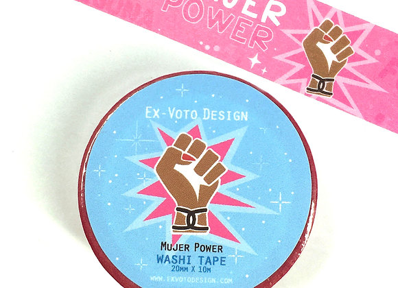MUJER POWER Washi Tape