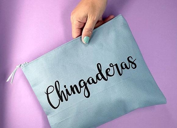 CHINGADERAS Clutch (blue & black)
