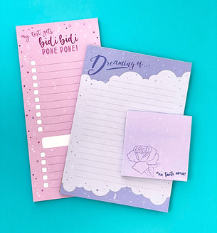 TANTO NOTEPADS (3 pack)