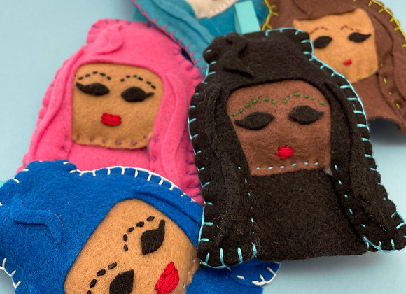 FELT CHOLA Ornament Packs