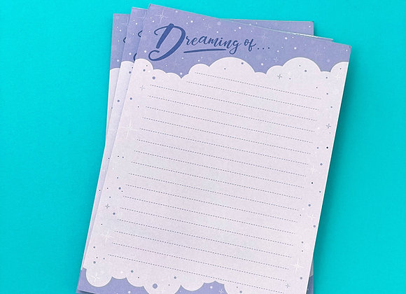 DREAMING OF....NOTEPAD