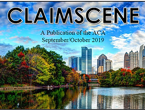 CLAIMSCENE Sept.-Oct. Header
