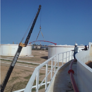 Replacement of Zawia Tank Farm Fire Figh