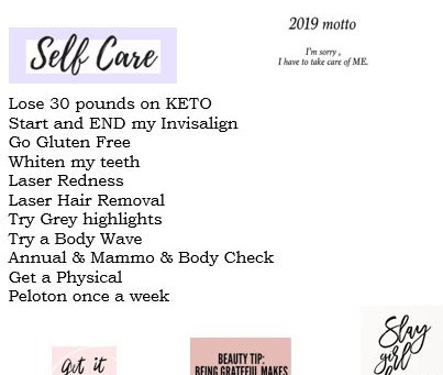 Self-care, love, and all that stuff....