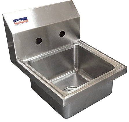 "17"" x 15"" x 12.25"" Wall Mount Hand Sinks"