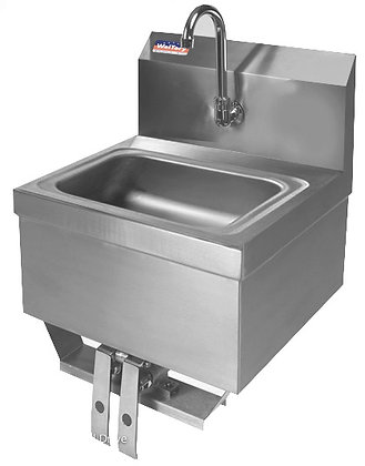 "17"" x 15"" x 20"" Knee Value Hand Sinks"