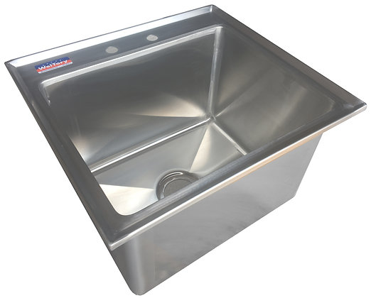 "20.5"" x 18.5"" x 12.5"" 1 Compartment Drop In Sinks"