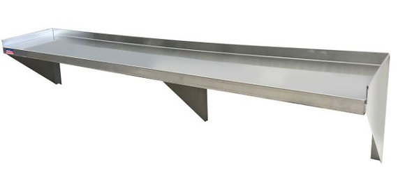 "84"" x 12"" x 9"" Economy Wall Shelf"