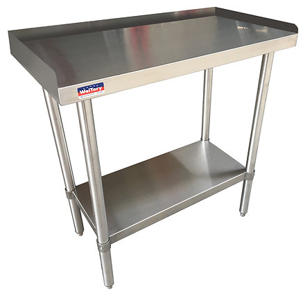 "12 1/4"" x 30"" x 24"" Heavy Duty Equipment Stand, Stainless Steel Undershelf"