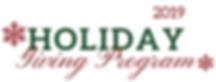 Holiday giving program 2019 logo transpa