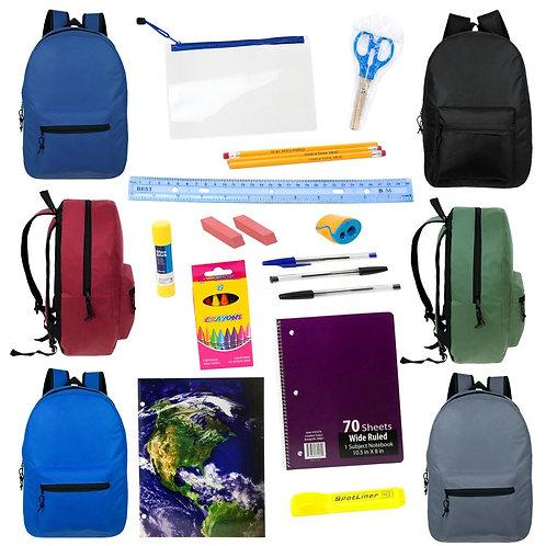 Stuffed Backpack