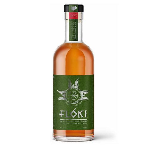 Flókiフロキシングルモルトウィスキーアイスランディックバーチフィニッシュ、47%、700ml