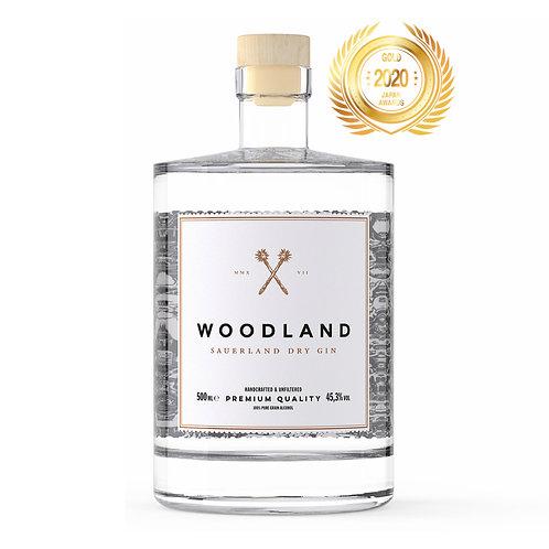ウッドランドザウアーラントドライジン、45,3%、500ml